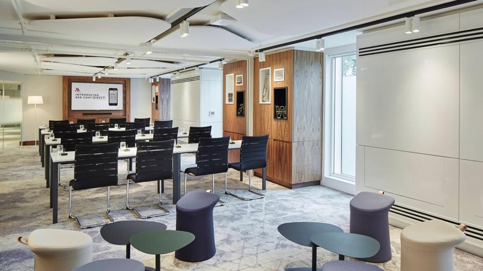 meeting rooms Marriott Hotel Heathrow Airport